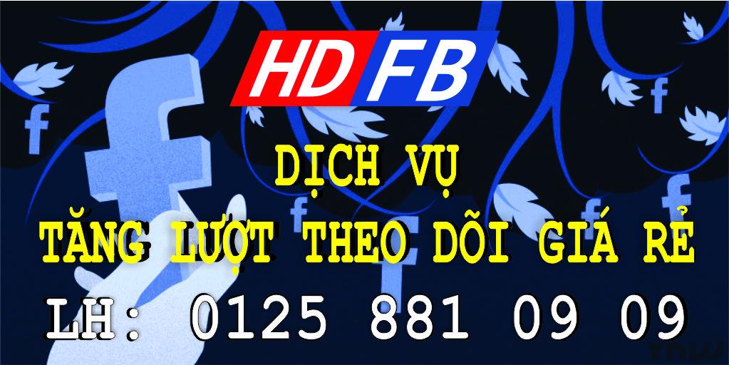 Dịch Vụ Tăng Lượt Theo Dõi Facebook | Tăng Follow Sub