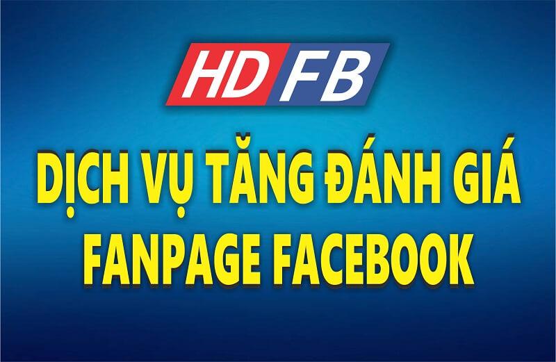 #1 Dịch Vụ Tăng Đánh Giá 5 Sao Fanpage Facebook