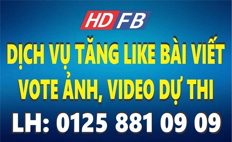 #1 Dịch Vụ Tăng Like Bài Viết, Vote Ảnh, Video Dự Thi Facebook