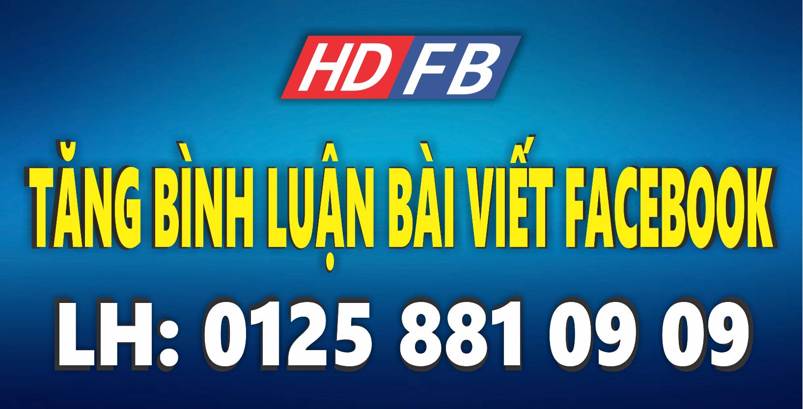 Dịch Vụ Tăng Bình Luận Facebook Tự Động