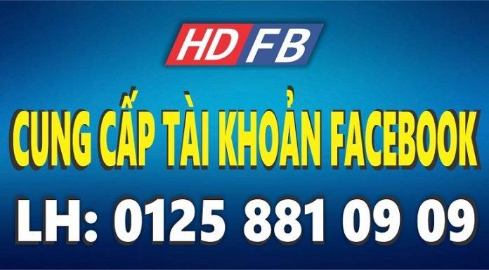mua bán tài khoản facebook