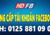 Dịch Vụ Bán Nick Facebook Số Lượng Lớn Theo Yêu Cầu