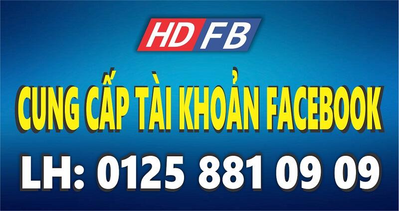 bán tài khoản facebook