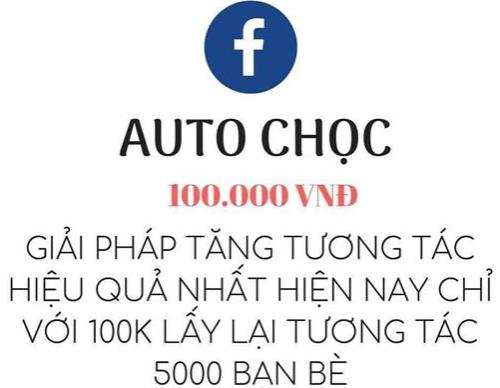 #1 Dịch vụ auto chọc bạn bè trên facebook lấy lại tương tác