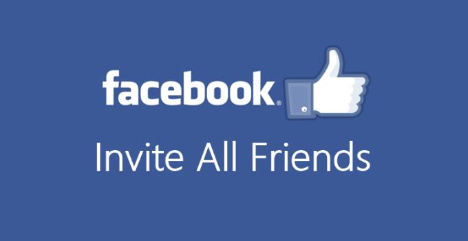#1 Hướng dẫn mời tất cả bạn bè like fanpage nhanh nhất
