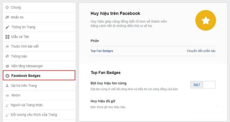 #1 Fan cứng là gì? Cách bật huy hiệu và trở thành fan cứng facebook 2