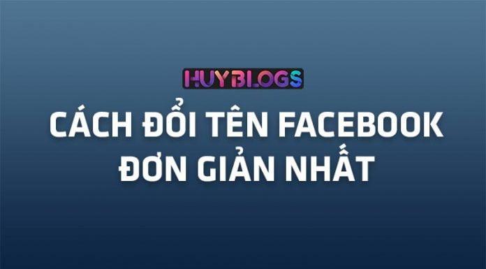 Cách đổi tên Facebook đơn giản nhất