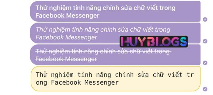 Viết chữ in đậm, in nghiêng, gạch dưới đơn giản với quy tắc có sẵn của Facebook