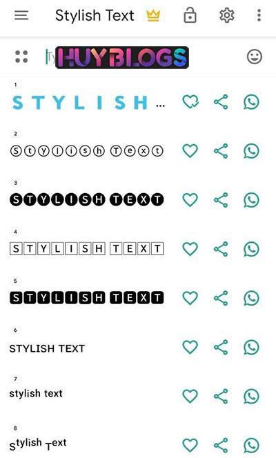 Cách viết chữ in đậm facebook bằng ứng dụng Stylist Text