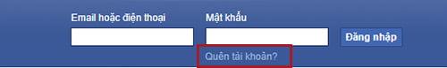 Cách lấy lại nick facebook bị hack email và sdt