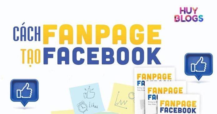 Cách tạo Fanpage facebook đơn giản nhanh chóng