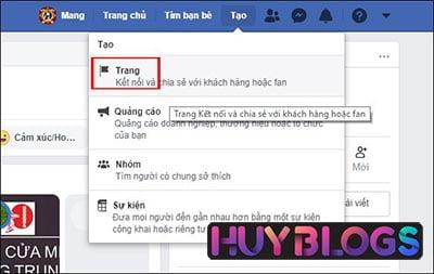 cách tạo fanpage facebook bán hàng trên máy tính