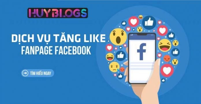 Dịch vụ tăng like fanpage Facebook