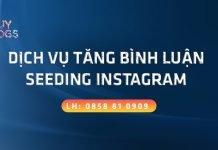 Dịch vụ tăng bình luận instagram