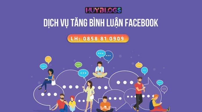Dịch vụ tăng comment Facebook an toàn hiệu quả