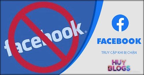 Cách vào Facebook khi bị chặn ở công ty