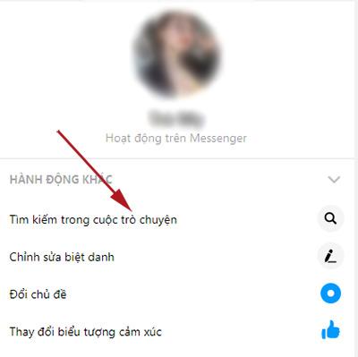 Cách xem tin nhắn đầu tiên trên messenger