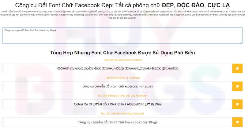 đổi Font Chữ Facebook Kiểu Chữ đẹp Æ°u Việt HÆ¡n Yaytext Dưới đây là cách chuyển đổi font chữ với unikey. huy blogs