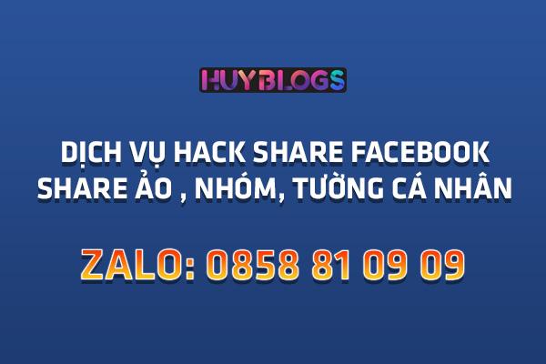 Dịch Vụ Tăng Chia Sẻ Facebook