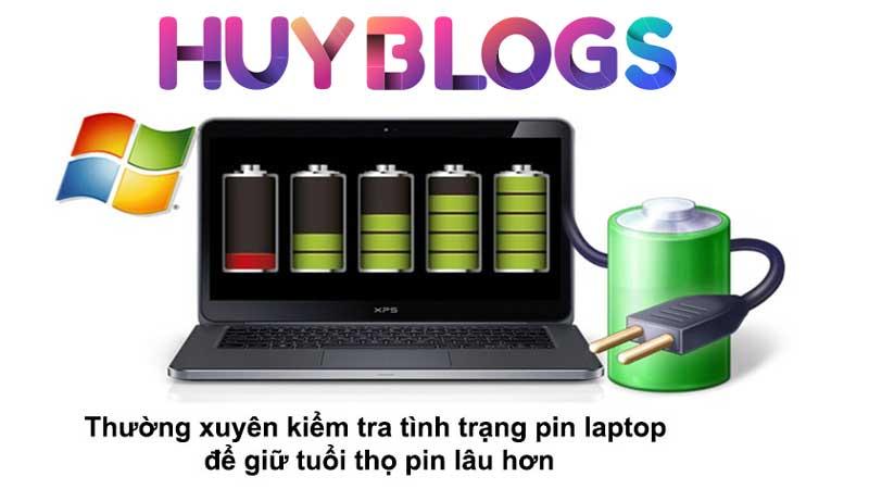 Hướng Dẫn Cách Kiểm Tra Độ Chai Pin Laptop Win 10 Dễ Dàng